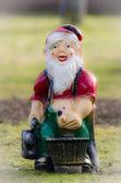 Tuin-gnome — Stockfoto