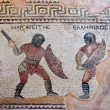 Fragment of ancient mosaic in Kourion, Cyprus — Stock Photo