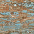 Closeup of blue old wood texture — Stock Photo