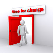 Time for changes — Zdjęcie stockowe