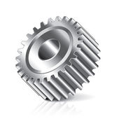 Gear wheel vector illustration — Stock Vector