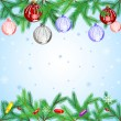 Beautiful Christmas background — Stock Vector #16229321