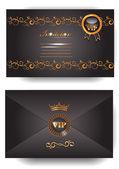 Invitation VIP envelope — Stock Vector