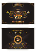 Invitation VIP envelope in vector — Stock Vector