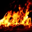 Royalty-Free Stock Photo: Flames background,fire, camp-fire