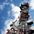 Telecommunication, Telecommunications Tower — Stock Photo #13654504