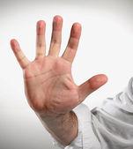 Hand five — Stock Photo