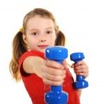 Fitness Girl — Stock Photo #14792839
