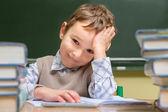 Bambino a scuola — Foto Stock