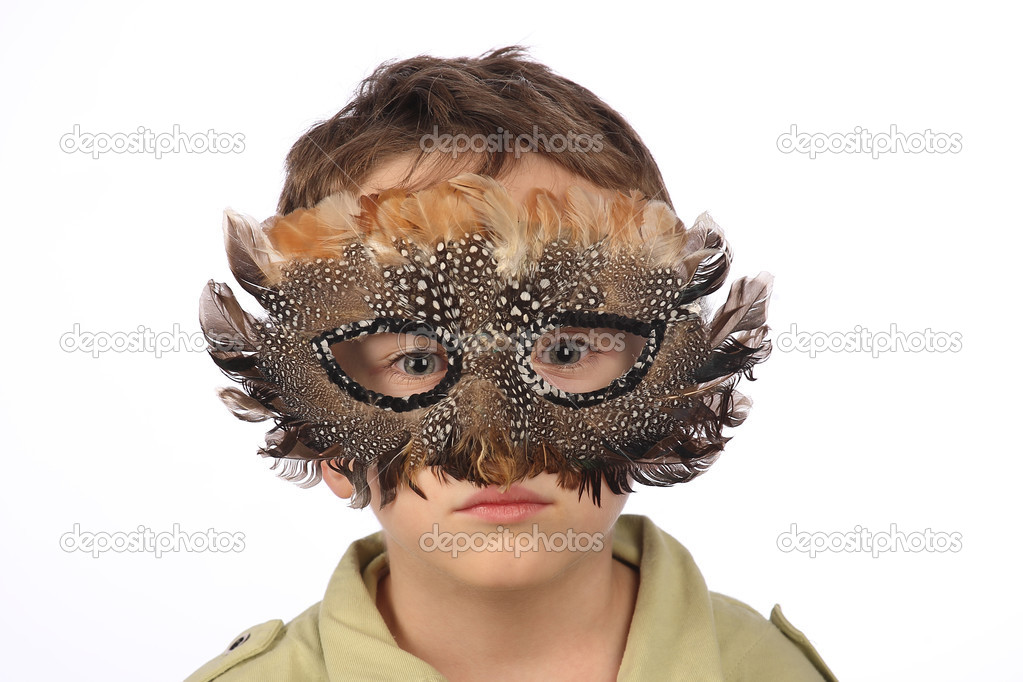 Карнавальная маска мальчику