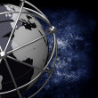 Earth Globe in Cage — Stock Photo #22032659