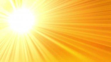 Solen bakgrund — Stockvideo