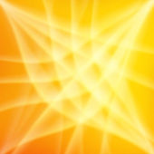 Yellow and orange rays abstract background — Stock Photo