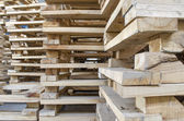 Houten pallets — Stockfoto
