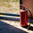 Stock Photo: Fire extinguisher