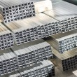 Foto Stock: Sheet metal profiles