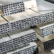 图库照片: Sheet metal profiles