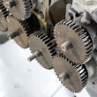 Stock Photo: Gears close up