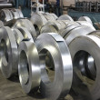 Stock Photo: Sheet metal rolls