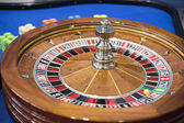 Roulette wheel close up — Stock Photo