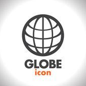 Globe vector icon — Stock Vector