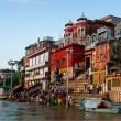 Pudja in Varanasi — Stock Photo