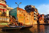 Pudja in Varanasi — Stock Photo