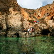 Grottos in Lagos, south of Portugal. — Stock Photo #26649167