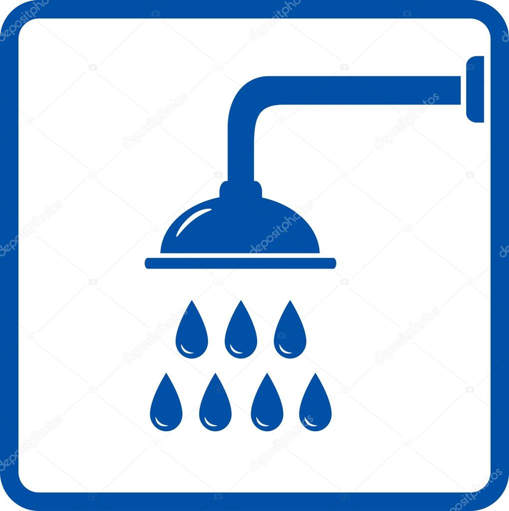 Icon Shower Head Graphic Icon With Shower Head