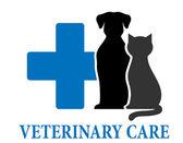 Veterinary care symbol — Stock Vector