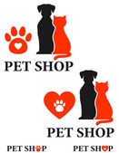 Pet shop icon — Stock Vector