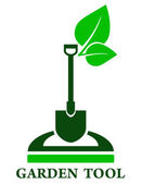 Garden tools icon — Stockvektor