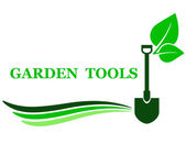 Garden tool background — Stock Vector