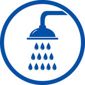 Shower head icon — Stockvector