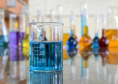 Lab Glassware — Stock Photo
