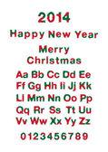 Happy New Year & Christmas 2014 — Stock Vector