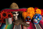Dia De Los Muertos - Day of The Dead Alter — Stock Photo