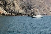 Ankern yachten santa catalina island — Stockfoto