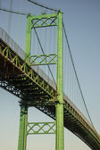 Vincent Thomas Bridge San Pedro — Stock Photo
