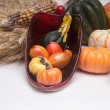 Cornucopia Harvest Time — Stock Photo
