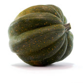 Acorn Squash Isolated on White Background — Zdjęcie stockowe