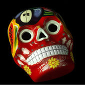 Artisan Mexican Skull — Stock Photo
