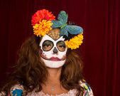 Day of The Dead Female — Stockfoto