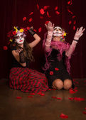 Day of The Dead Rose Petals — Stockfoto