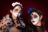 Day of The Dead Friends — Stock Photo