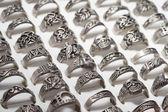 Herrkollektion ring — Stockfoto