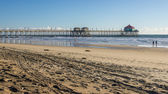 Huntington Beach Pier HDR — Stock Photo