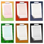 彩色的纸板 — 图库矢量图片