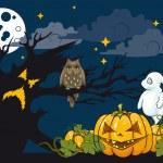 Halloween themed illustration. — Stock Vector #32913129