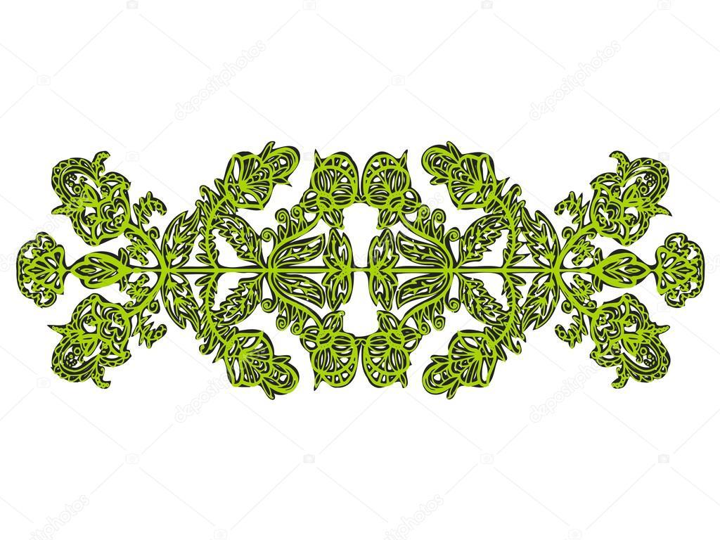 绿叶满车素材矢量